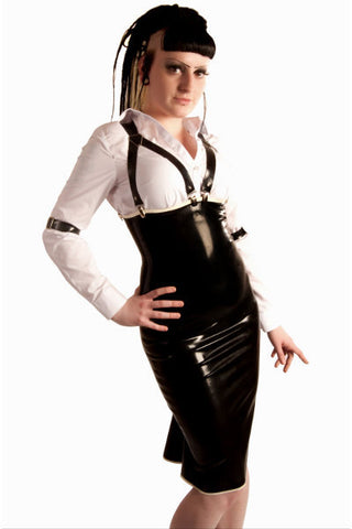 Underbust Kickpleat Pencil Dress