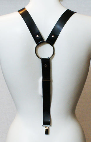 Heyes Latex Braces Suspenders