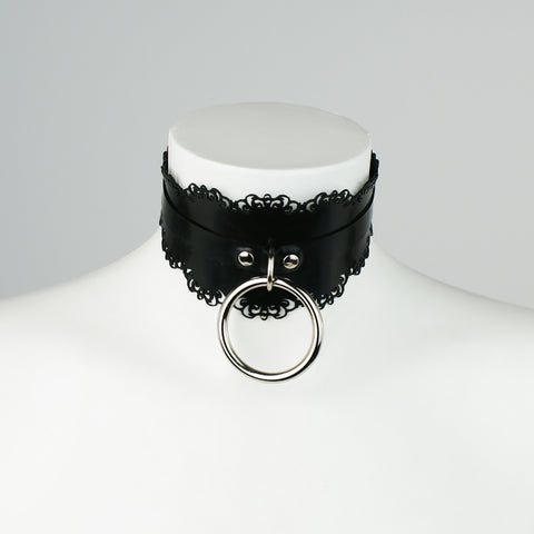Latex Lace Shaped O Ring Collar
