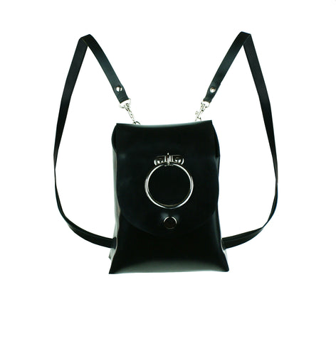Latex O-Ring Mini Backpack