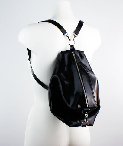Dis Latex Slouch Backpack