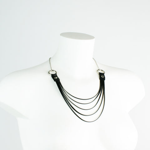 Sarah Latex Strand Chain Necklace