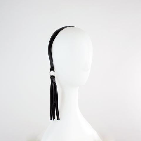 Latex Tassel Alice Band
