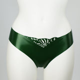Tropical Latex Cheeky Briefs