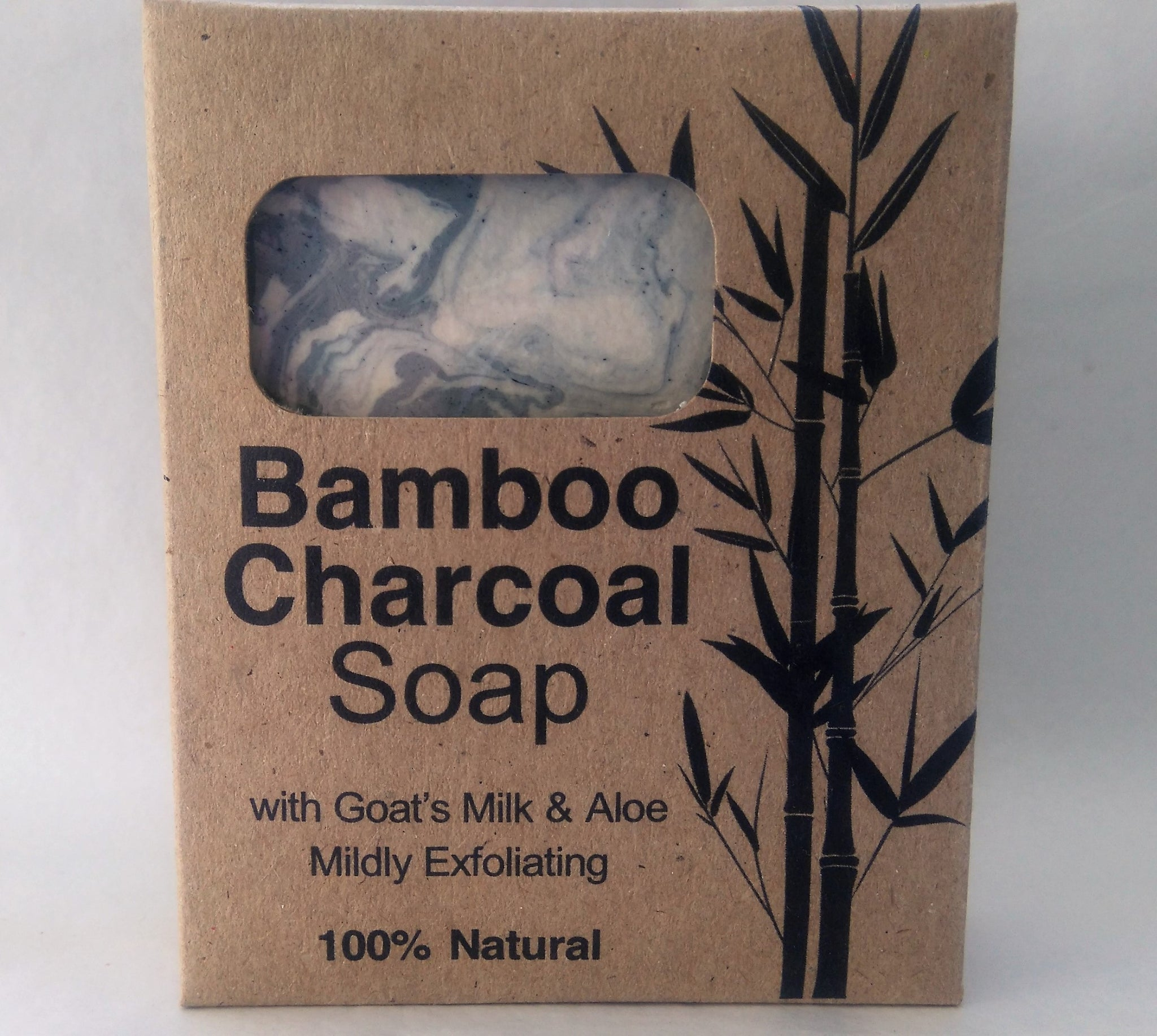 Bamboo Charcoal Soap Aloe