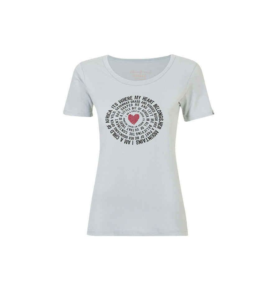 Home Brewed Ladies T-shirt Circle Words