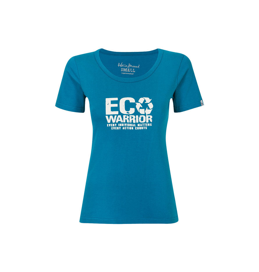 Home Brewed Ladies T-shirt Eco-Warrior