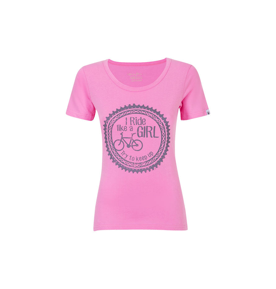Home Brewed Ladies T-shirt Ride Like a Girl