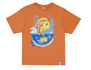 "SASSI ""Protect"" T-Shirt - Orange"