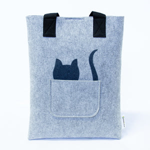Uzwelo rPet Felt kitty bags