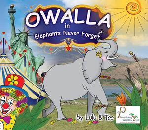 Children's Book - Elephants Never Forgets