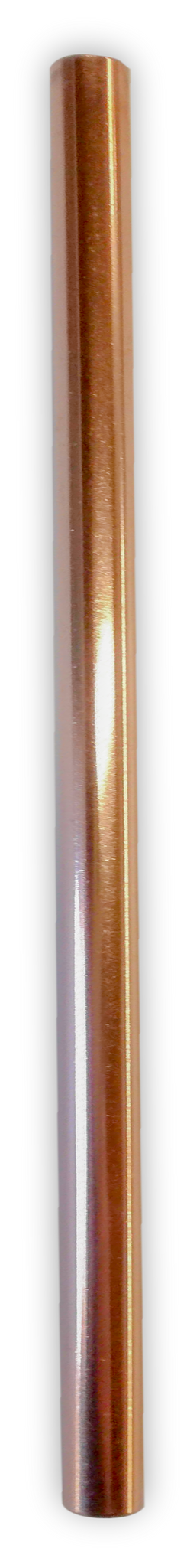 Copper Straw - Plain Smoothie Straw (9mm - diameter)
