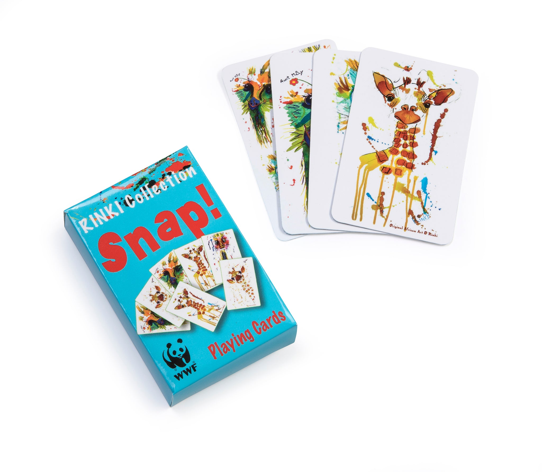 WWF Rinki Collection Snap Cards