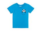 Panda in a pocket - Children's T-shirt
