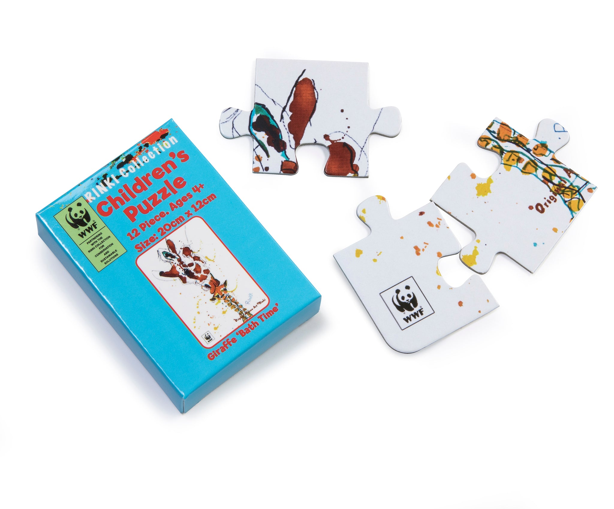 WWF Rinki Collection 12 piece jigsaw