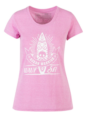 Ladies Surf T-shirt Mauve