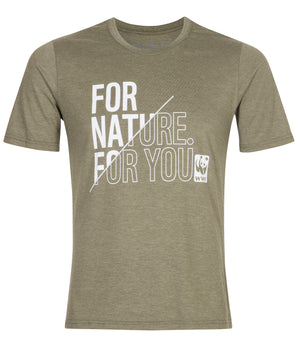 For Nature For You Olive Green Men's T-Shirt