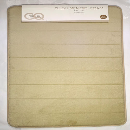 1 piece Memory Foam Bath Mat - 50 x 80cm (various colours) - CQ Linen Quality Bedding