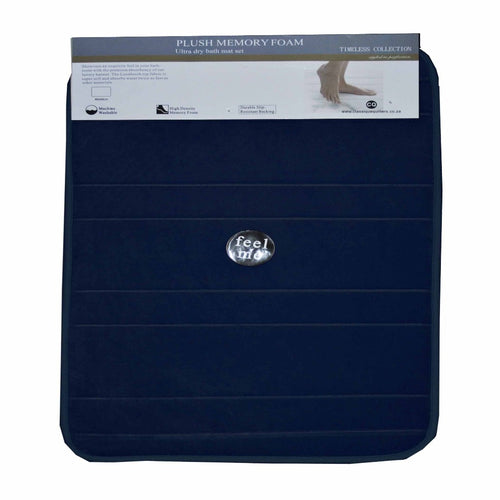 1 piece Memory Foam Bath Mat (various colours) - CQ Linen Quality Bedding