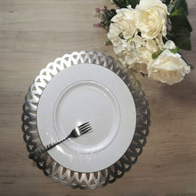 Load image into Gallery viewer, silver round placemat-CQ Linen