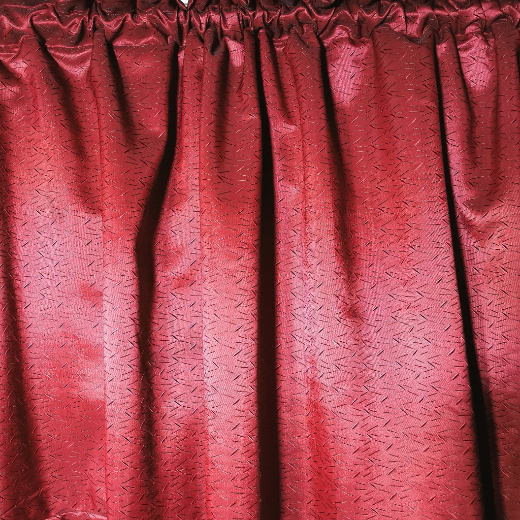 Cassidy Exclusive Jacquard Taped and Lined Curtain - 230x218cm - CQ Linen Quality Bedding