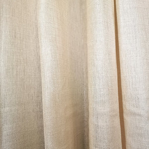 Gold Shimmer Sheer Eyelet, Unlined Curtain - 140x225cm - CQ Linen