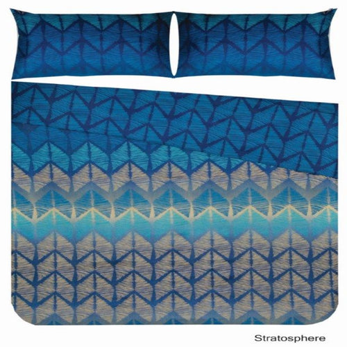 Microfibre Printed Comforter Set - Stratosphere - CQ Linen Quality Bedding