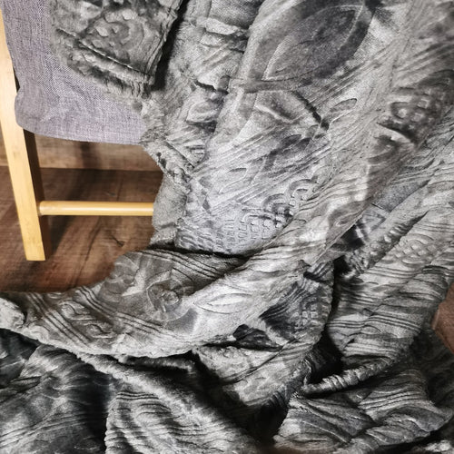 Flannel Embossed Throw - CQ Linen Quality Bedding