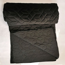 Load image into Gallery viewer, Quilt Blanket Velvet - Black - CQ Linen Quality Bedding