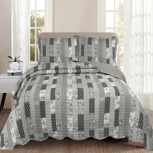 printed cotton quilt set-CQ Linen