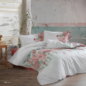 100% Cotton Duvet Cover Set - Alin (New Collection) - CQ Linen Quality Bedding