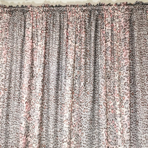 Printed Curtains Taped and Lined - 230x218cm - CQ Linen Quality Bedding