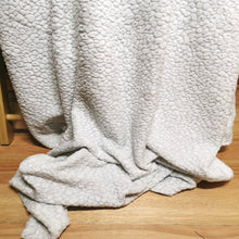 Load image into Gallery viewer, Flannel Fleece Embossed Throw - 150 x 200cm - CQ Linen Quality Bedding