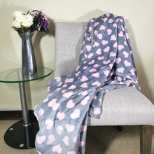 Load image into Gallery viewer, Flannel Fleece Throw - 150x200cm - CQ Linen Quality Bedding