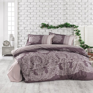 100% Cotton Duvet Cover Set - Oslo - CQ Linen Quality Bedding