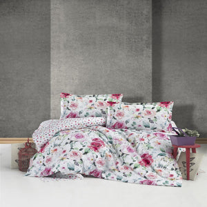 100% Cotton Duvet Cover Set- Ruze - CQ Linen