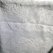 Load image into Gallery viewer, Winter Flannel Fleece Embossed Sherpa Comforter - CQ Linen