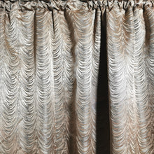 Load image into Gallery viewer, Lara Exclusive Jacquard Taped and Lined Curtain -230x218cm - CQ Linen