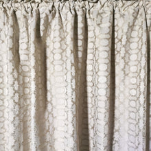 Load image into Gallery viewer, Exclusive Jacquard Taped and Lined Curtain - 225x218cm - CQ Linen Quality Bedding