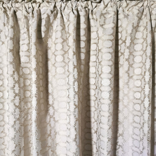 Exclusive Jacquard Taped and Lined Curtain - 225x218cm - CQ Linen
