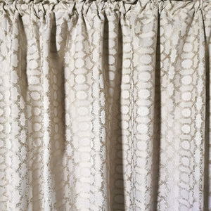 Exclusive Jacquard Taped and Lined Curtain - 225x218cm - CQ Linen Quality Bedding