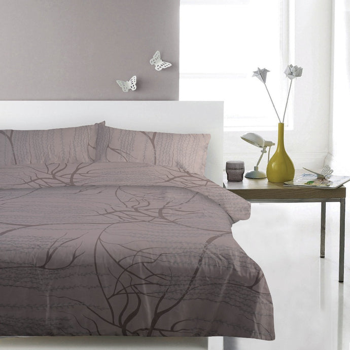 100% Cotton Sateen Duvet Set - Droopy - CQ Linen