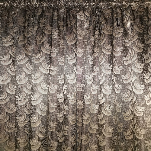 Sahara Exclusive Jacquard Taped and Lined Curtain - 230x218cm - CQ Linen