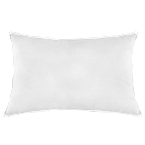 Natural Duck Feather Cotton Standard Pillow - CQ Linen Quality Bedding