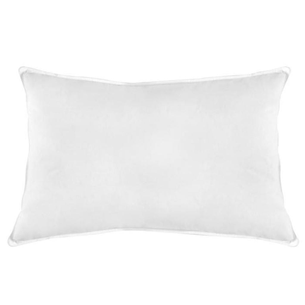 Natural Duck Feather And Down Cotton Standard Pillow - 2 Pack - CQ Linen Quality Bedding