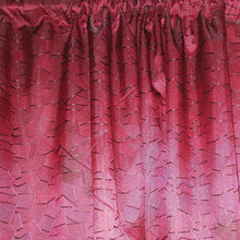 Load image into Gallery viewer, Geometric Exclusive Jacquard Taped and Lined Curtain - 230x218cm - CQ Linen