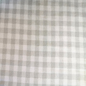 100% Brushed Cotton Winter Bale Set - Grey Checked Print - CQ Linen Quality Bedding
