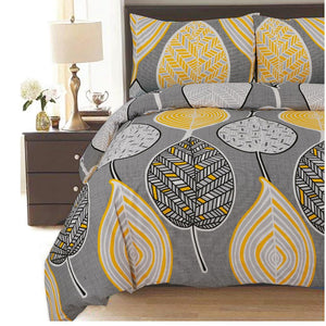 Leaf Polycotton Duvet Cover Set - CQ Linen Quality Bedding