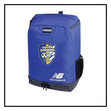 Load image into Gallery viewer, Dover-Sherborn Soccer Team Ball Back Pack