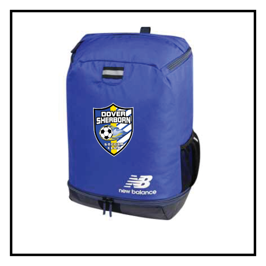 Dover-Sherborn Soccer Team Ball Back Pack
